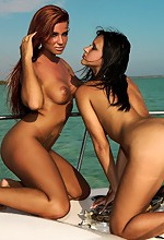 Watch 4 Beauty - Two Babes On A Yacht For Watch 4 Beauty