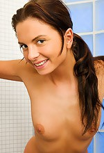 Stacey - Stacey from Joymii shows off her sexy teen body in the shower in this steamy gallery!