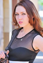 FTVGirls Meghan - Beautiful redhead Meghan gets naked outside a shopping mall in this FTVGirls gallery!