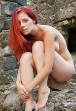 Femjoy Ariel - Incredible redhead Ariel is looking like the embodiment of perfection in this Femjoy gallery!