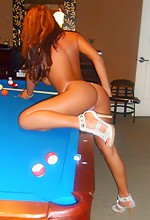 Cam With Carmen - Cam With Carmen playing strip pool with a friend of hers, she is not very good at pool so your in luck!